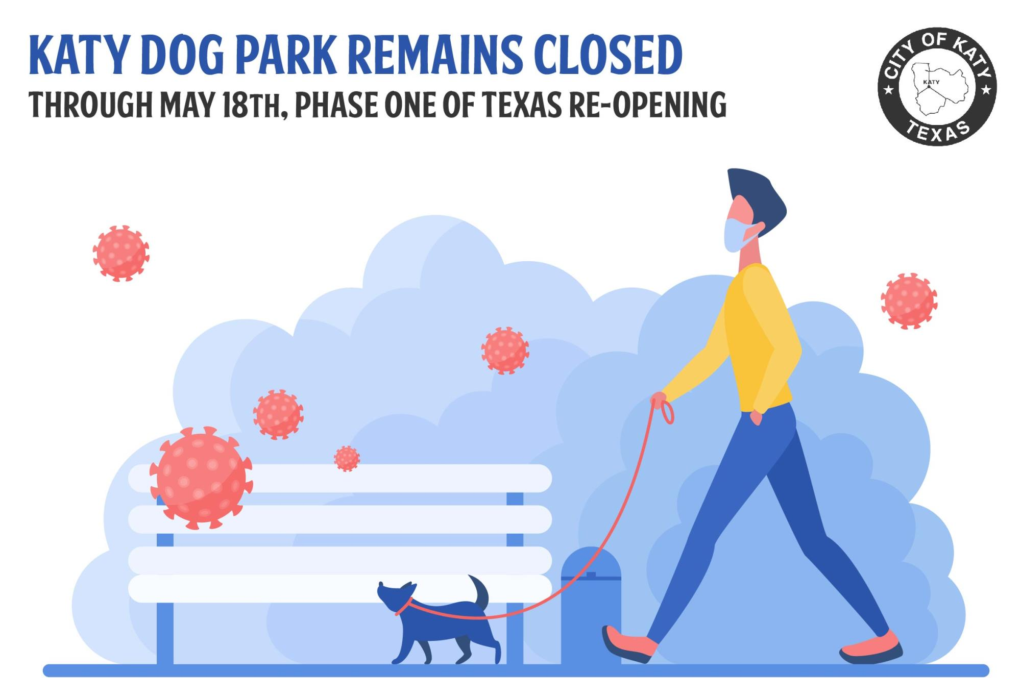COVID-19 Dog Park Remains Closed