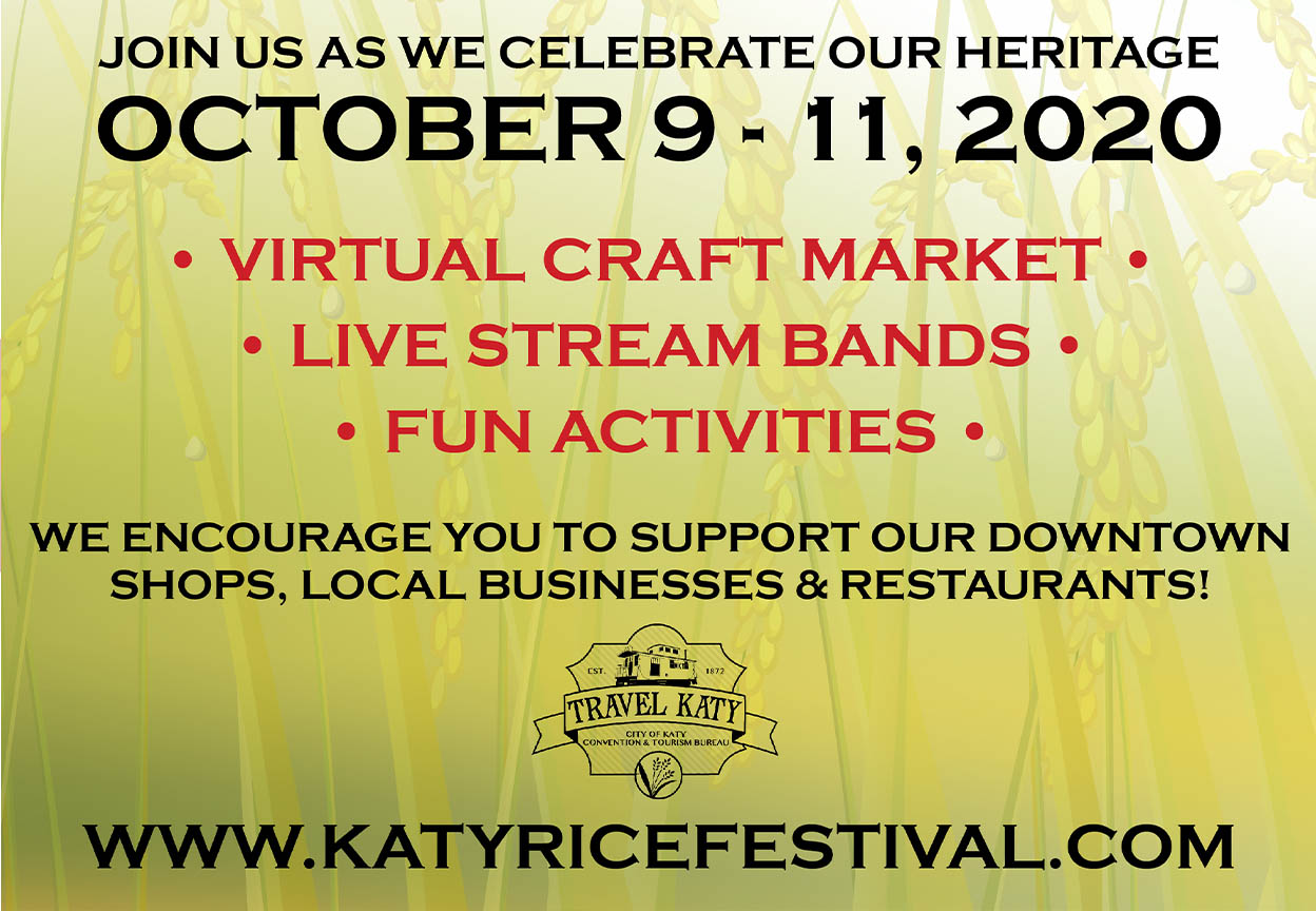 Virtual Katy Rice Festival
