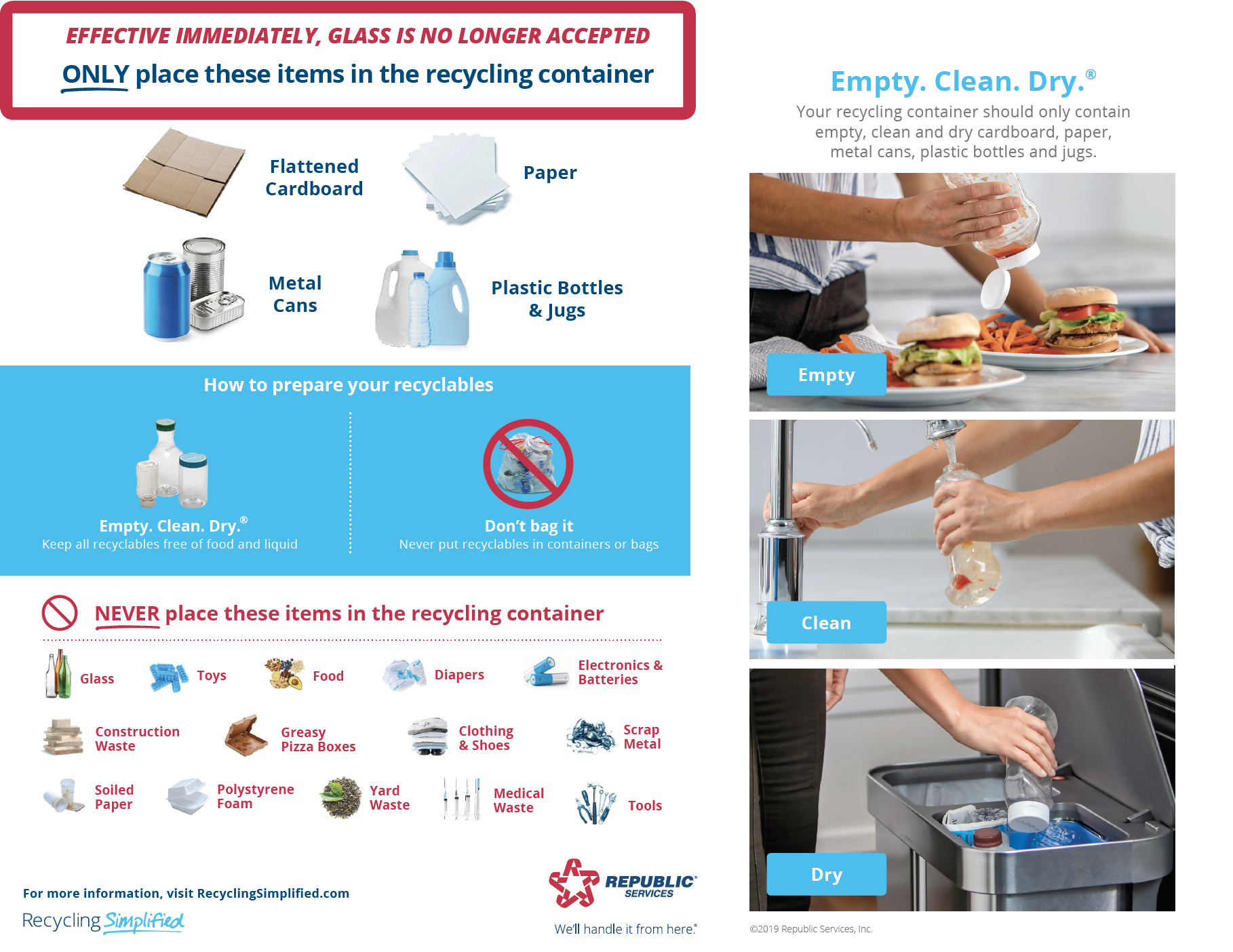 Recycling Changes Brochure