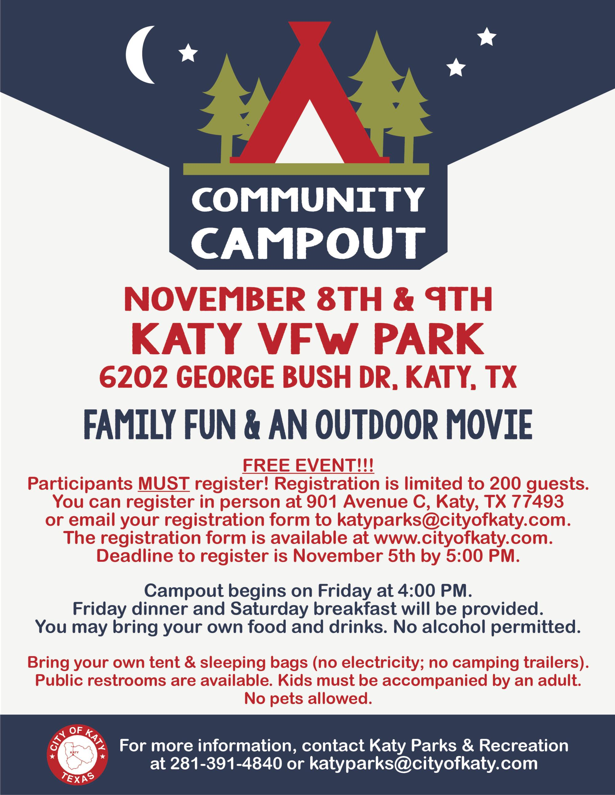 2019 Fall Community Campout