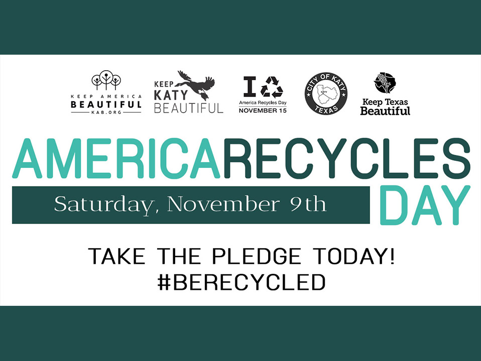 KKB's America Recycles Day - November 9